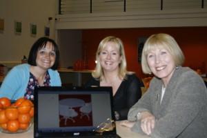 Vicki Stone, Helen Reed & Mayor of North Tyneside