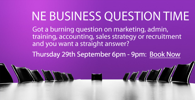 FREE Event – NE Business Question Time