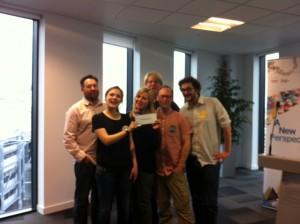Job Log wins Startup Newcastle 2012