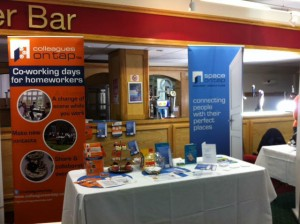 North East Expo Space on Tap stand at NE Expo