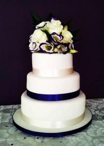 Yum yum cakes wedding cake 2012