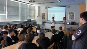 Cramlington Learning Village visit Reflective Thinking