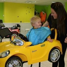 New children's hairdressing experience salon and clothing store opens its doors in Gosforth!