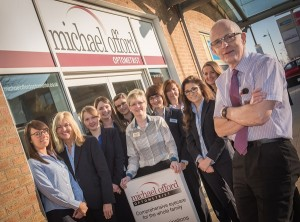 Michael Offord Optometrist and the team