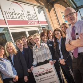 Michael Offord Optometrist to give up his summer holiday for charity for 15th consecutive year