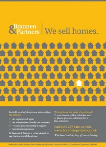 Brannen & Partners we sell homes ad campaign by Vicki Stone Marketing