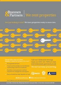 Brannen and Partners we rent properties ads