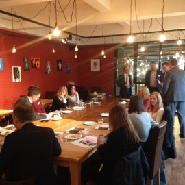 Marketing Lunch & learn 26th May – The personality behind the brand with Tait Walker
