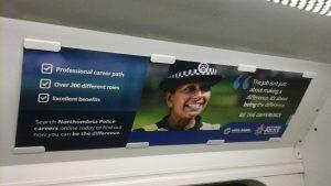 Northumbria Police ad campaign