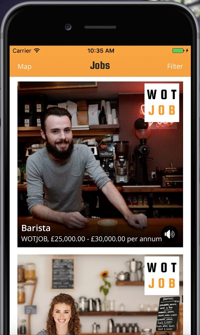 Startup story | WOTJOB – Find jobs near you, fast.